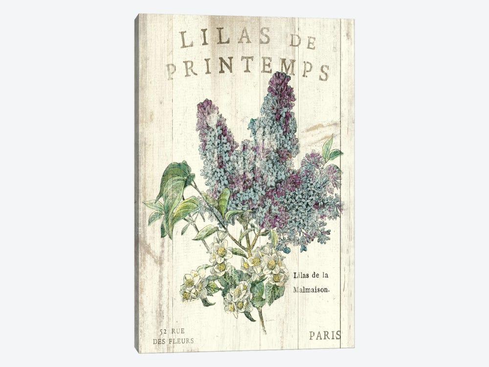 Lilas de Printemps  by Sue Schlabach 1-piece Canvas Art