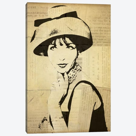 Fashion News I Canvas Print #WAC1877} by Wild Apple Portfolio Canvas Print