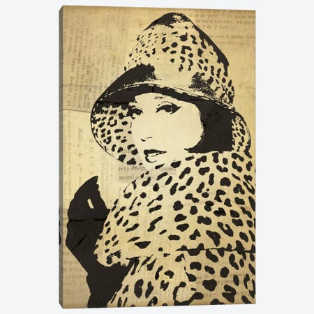 Fashion News II Canvas Print #WAC1878} by Wild Apple Portfolio Canvas Wall Art