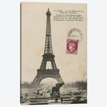 Paris 1900 Canvas Print #WAC1880} by Wild Apple Portfolio Canvas Print