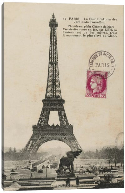 Paris 1900 Canvas Print #WAC1880