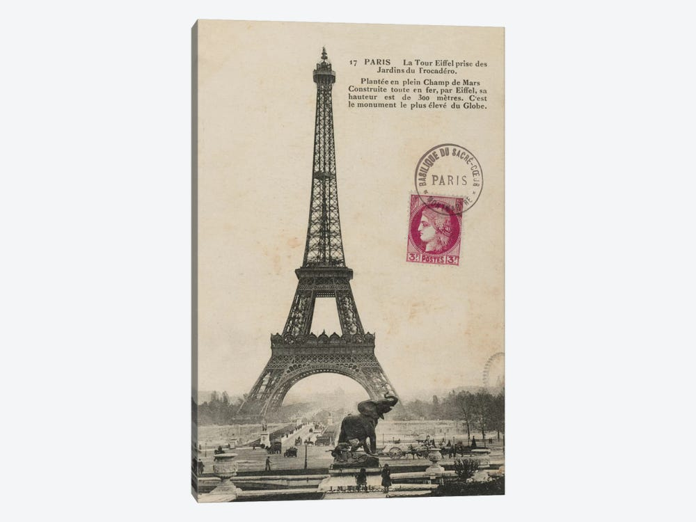 Paris 1900 by Wild Apple Portfolio 1-piece Art Print