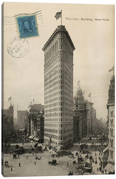 Flat Iron 1909 Canvas Print #WAC1881