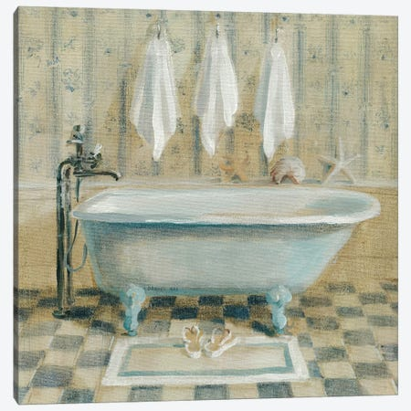 Victorian Bath IV Canvas Print #WAC188} by Danhui Nai Canvas Art Print