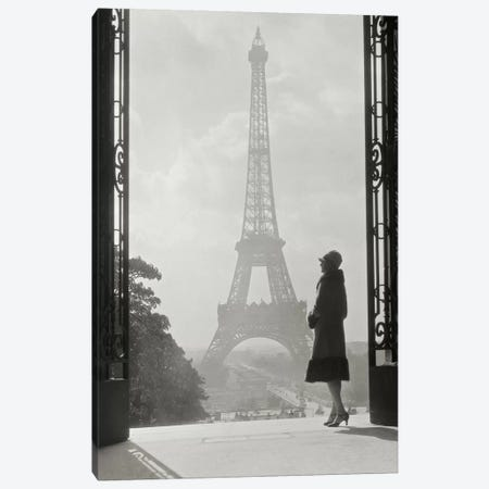 Paris 1928 Canvas Print #WAC1891} by Wild Apple Portfolio Canvas Art