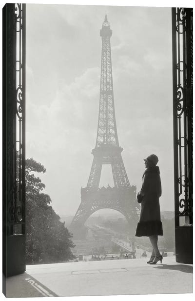 Paris 1928 Canvas Art Print