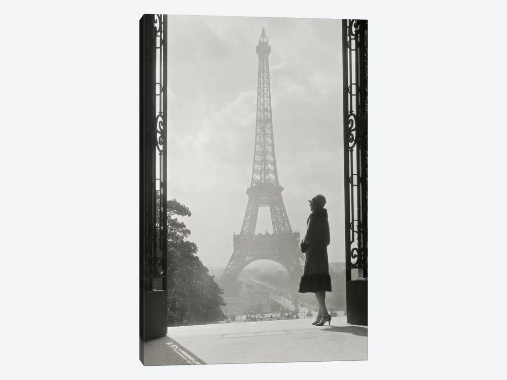 Paris 1928 by Wild Apple Portfolio 1-piece Canvas Art Print
