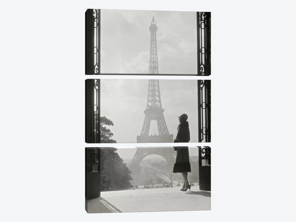 Paris 1928 3-piece Canvas Art Print