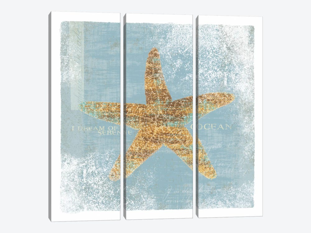 Serene Ocean 3-piece Canvas Art