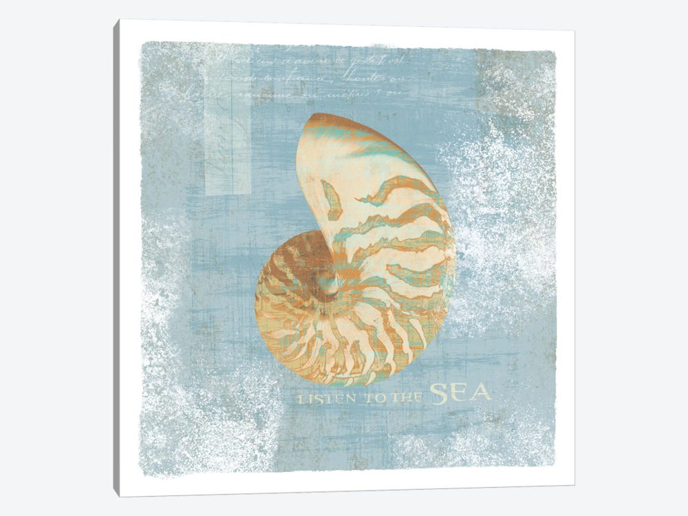 Listen to the Sea 1-piece Canvas Art Print
