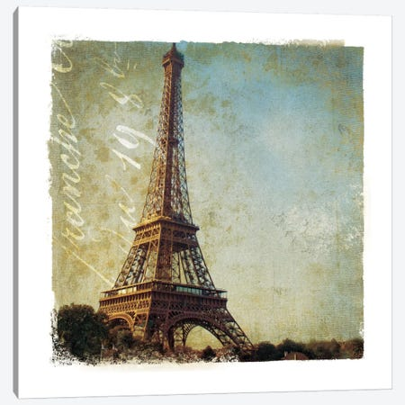 Golden Age of Paris I Canvas Print #WAC1898} by Wild Apple Portfolio Canvas Wall Art