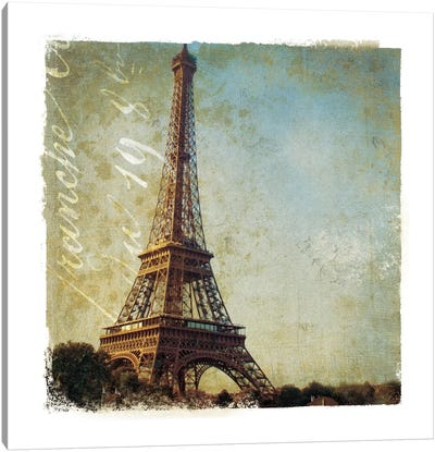 Golden Age of Paris I Canvas Art Print