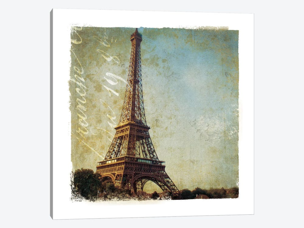 Golden Age of Paris I by Wild Apple Portfolio 1-piece Canvas Wall Art