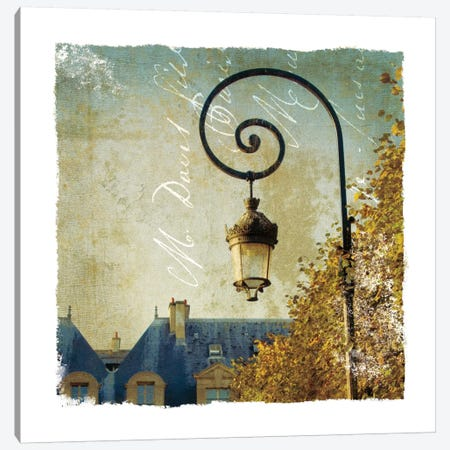 Golden Age of Paris II Canvas Print #WAC1899} by Wild Apple Portfolio Canvas Wall Art