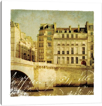 Golden Age of Paris III Canvas Print #WAC1900