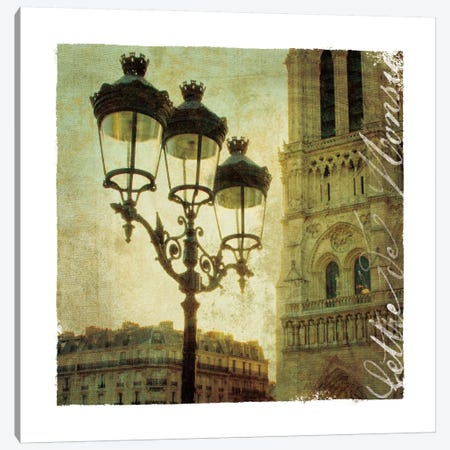 Golden Age of Paris IV Canvas Print #WAC1901} by Wild Apple Portfolio Canvas Artwork