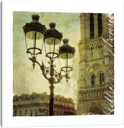 Golden Age of Paris IV Canvas Art Print