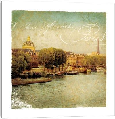 Golden Age of Paris V Canvas Print #WAC1902