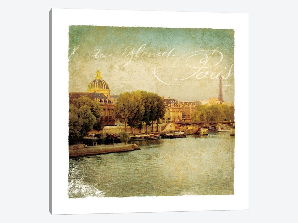 Golden Age of Paris V by Wild Apple Portfolio 1-piece Canvas Art