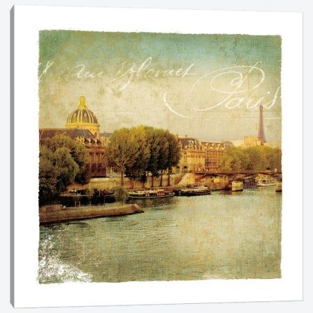 Golden Age of Paris V Canvas Print #WAC1902} by Wild Apple Portfolio Canvas Wall Art
