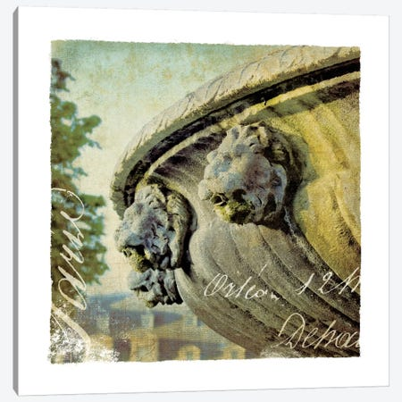 Golden Age of Paris VI Canvas Print #WAC1903} by Wild Apple Portfolio Canvas Wall Art