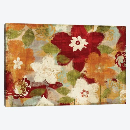 Modern Bloom Canvas Print #WAC1906} by Wild Apple Portfolio Canvas Print