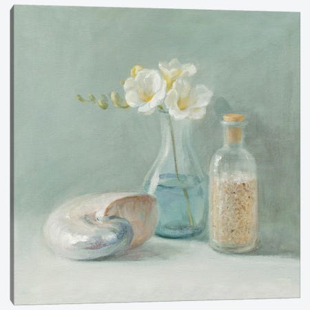 Freesia Spa Canvas Print #WAC190} by Danhui Nai Canvas Wall Art