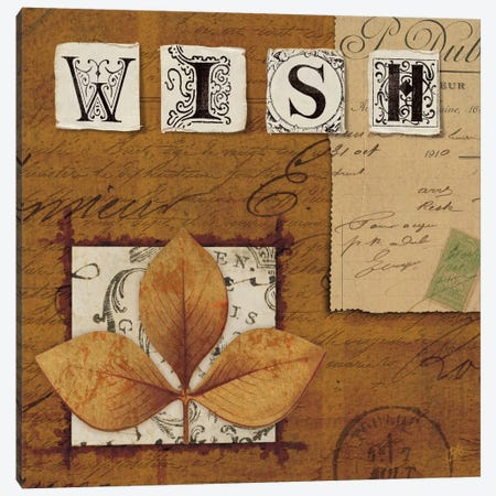 Nature's Journal - Wish Canvas Print #WAC1916} by Wild Apple Portfolio Canvas Art
