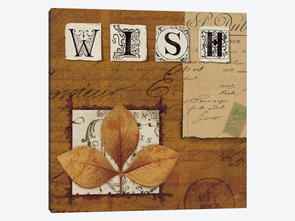 Nature's Journal - Wish by Wild Apple Portfolio 1-piece Art Print