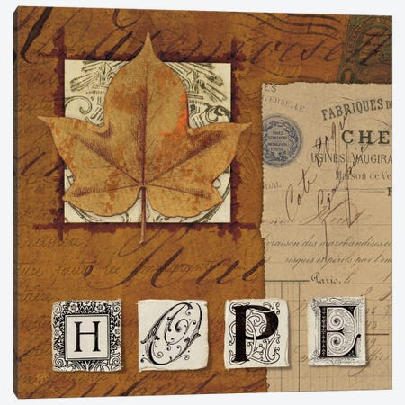 Nature's Journal - Hope Canvas Print #WAC1918} by Wild Apple Portfolio Canvas Art Print