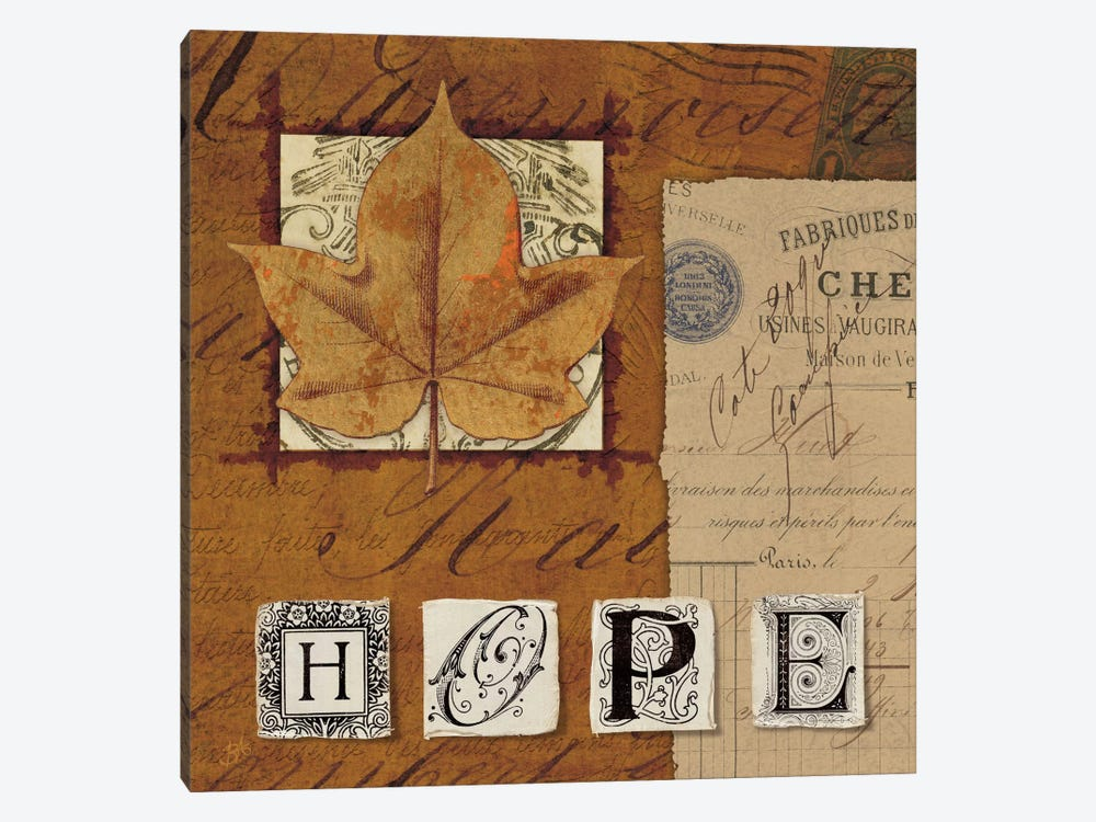 Nature's Journal - Hope 1-piece Canvas Print