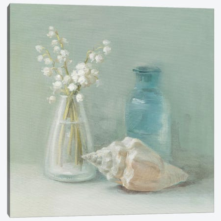 Lily of the Valley Spa Canvas Print #WAC191} by Danhui Nai Canvas Wall Art
