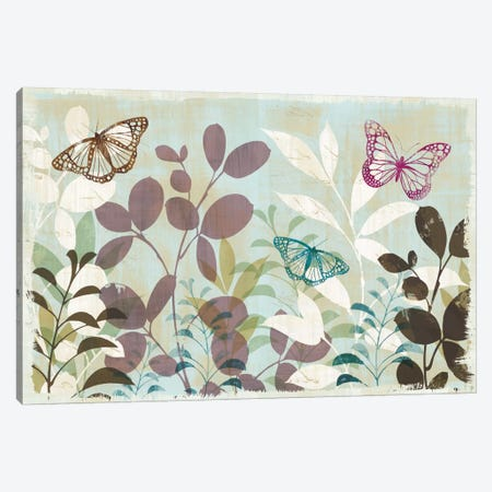 Fluttering III Canvas Print #WAC1924} by Wild Apple Portfolio Canvas Print