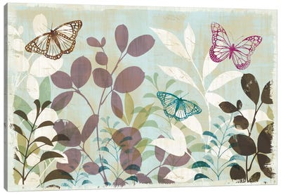 Fluttering III Canvas Art Print