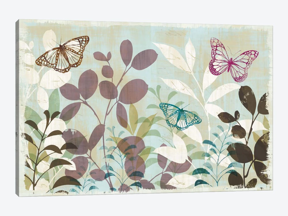 Fluttering III by Wild Apple Portfolio 1-piece Canvas Artwork