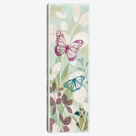 Fluttering Panel I Canvas Print #WAC1925} by Wild Apple Portfolio Canvas Art Print