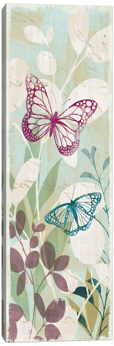 Fluttering Panel I Canvas Art Print
