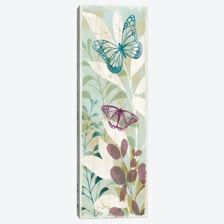 Fluttering Panel II Canvas Print #WAC1926} by Wild Apple Portfolio Art Print