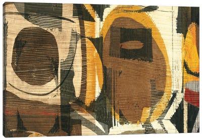Graphic Abstract I Canvas Print #WAC1927