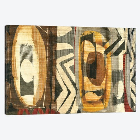 Graphic Abstract II Canvas Print #WAC1928} by Wild Apple Portfolio Canvas Artwork
