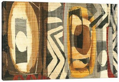 Graphic Abstract II Canvas Print #WAC1928