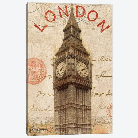 Letter from London Canvas Print #WAC1929} by Wild Apple Portfolio Canvas Artwork