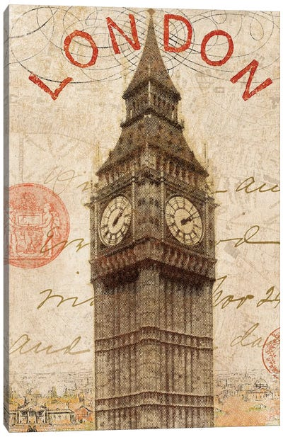 Letter from London Canvas Art Print