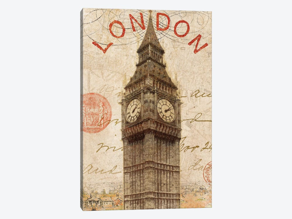 Letter from London by Wild Apple Portfolio 1-piece Art Print