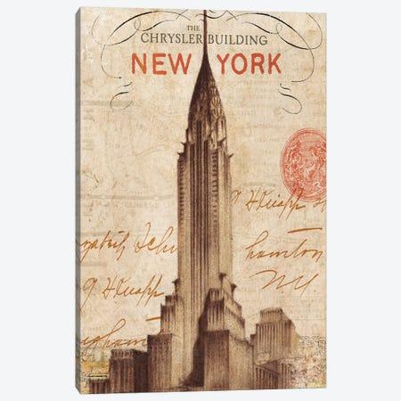 Letter from New York Canvas Print #WAC1930} by Wild Apple Portfolio Canvas Art Print