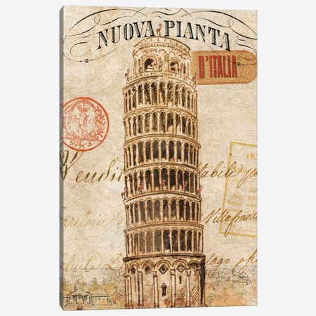 Letter from Pisa Canvas Print #WAC1932} by Wild Apple Portfolio Canvas Print