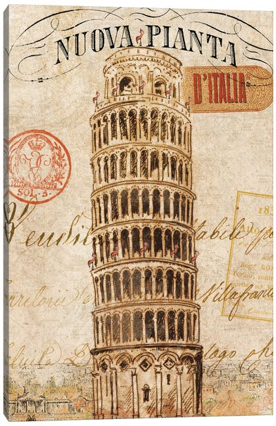 Letter from Pisa Canvas Art Print