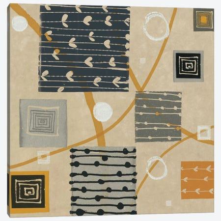 Graphic Tiles I Canvas Print #WAC1935} by Wild Apple Portfolio Canvas Art