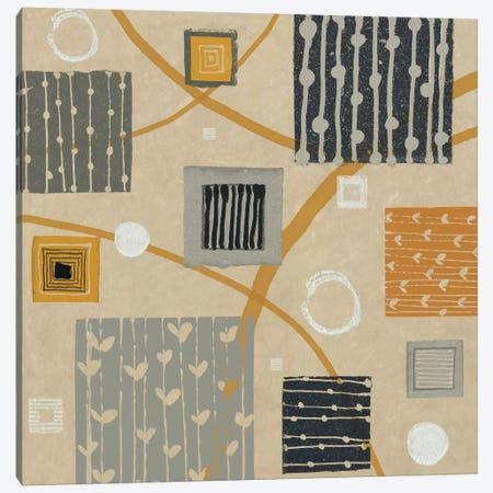 Graphic Tiles II Canvas Print #WAC1936} by Wild Apple Portfolio Canvas Art