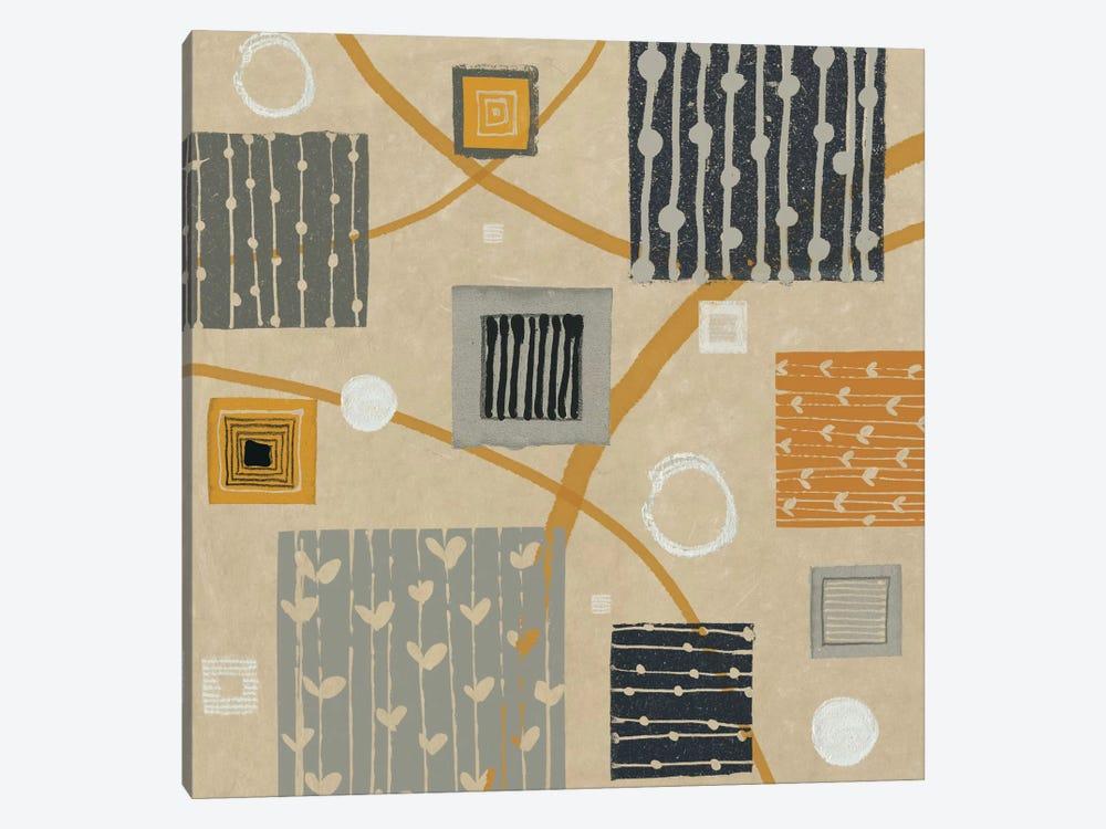 Graphic Tiles II by Wild Apple Portfolio 1-piece Canvas Art Print